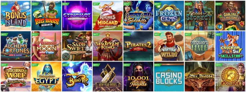 Bästa casino slots online