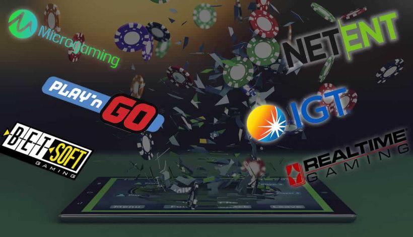 Casinoslots - Speltillverkare