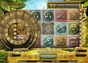 Free spins i Gonzos Quest