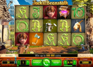 Jack and the Beanstalk slot bonusspel