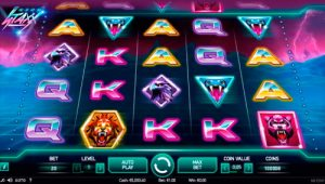 Neon Staxx slot av NetEnt