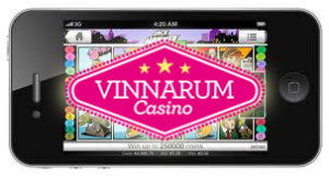Vinnarum Casino Mobil version